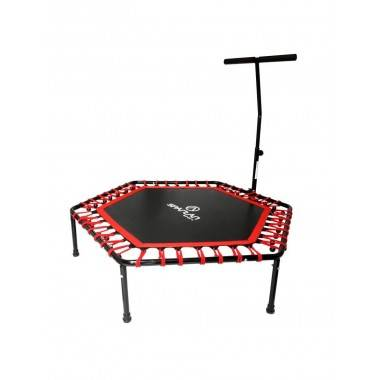 Trampolina fitness HEX 127cm SPARTAN SPORT z regulowanym uchwytem,producent: SPARTAN SPORT, photo: 2