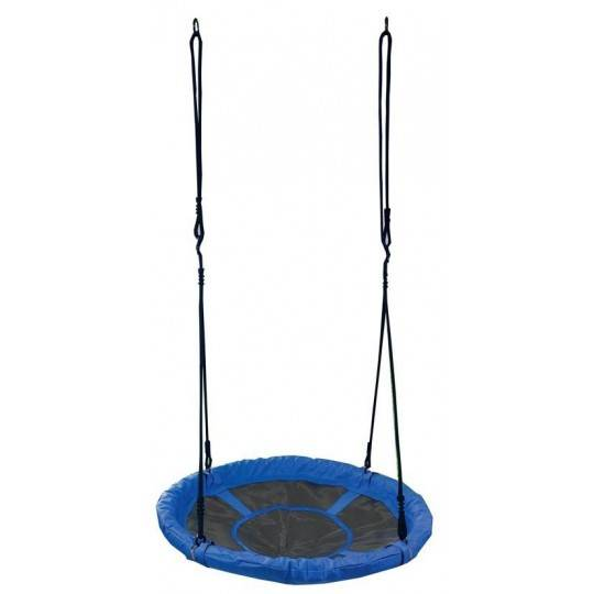 Huśtawka ogrodowa dla dzieci Spartan Sport bocianie gniazdo | niebieska,producent: SPARTAN SPORT, zdjecie photo: 1 | online shop