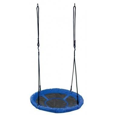 Huśtawka ogrodowa dla dzieci Spartan Sport bocianie gniazdo | niebieska,producent: SPARTAN SPORT, zdjecie photo: 2 | online shop