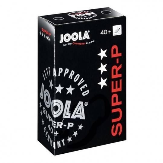 Piłeczki do tenisa stołowego JOOLA SUPER-P białe 6 sztuk ITTF,producent: Joola, zdjecie photo: 1 | online shop klubfitness.pl |