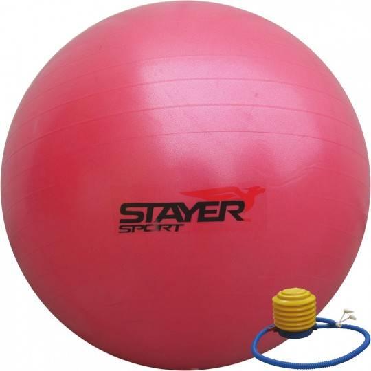 Piłka gimnastyczna gładka 85cm STAYER SPORT z pompką,producent: Stayer Sport, zdjecie photo: 2 | online shop klubfitness.pl | sp