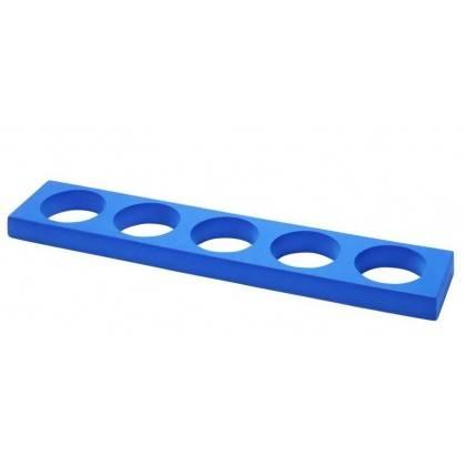 Stojak uchwyt na 5 rollerów 96 x 19 x 5 cm TRENDY YOGA niebieski,producent: TRENDYYOGA, photo: 1