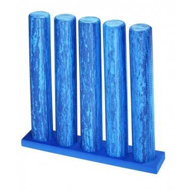 Stojak uchwyt na 5 rollerów 96 x 19 x 5 cm TRENDY YOGA niebieski,producent: TRENDYYOGA, photo: 2