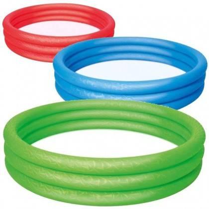 Basen ogrodowy dla dzieci BESTWAY 51027 trzy ringi pompowany,producent: Bestway, zdjecie photo: 1 | online shop klubfitness.pl |
