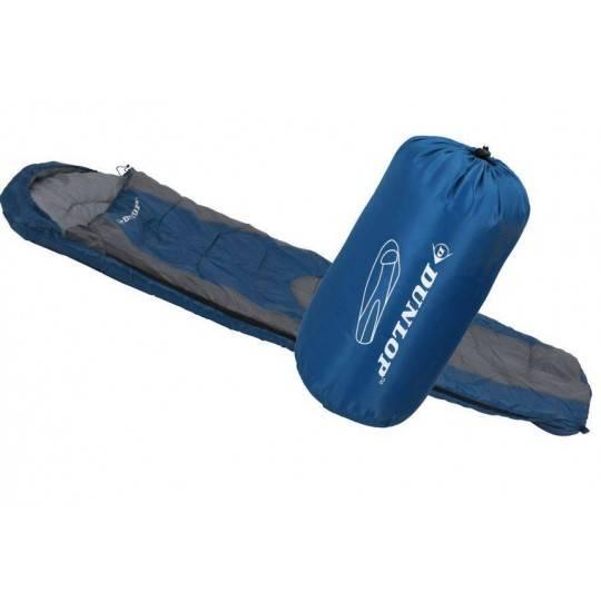 Śpiwór turystyczny mumia DUNLOP z pokrowcem,producent: Dunlop, zdjecie photo: 1 | online shop klubfitness.pl | sprzęt sportowy s