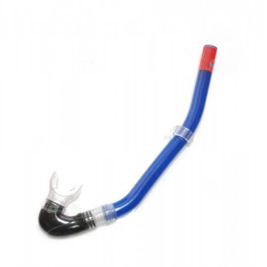 Rurka do pływania SALVAS WIND SILICONE z pokrowcem niebieska,producent: SALVAS, photo: 1