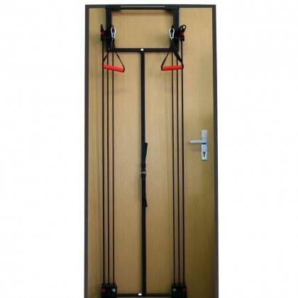 Zestaw lin treningowych na drzwi TOWER 200 INSPORTLINE gumy do ćwiczeń,producent: INSPORTLINE, photo: 2