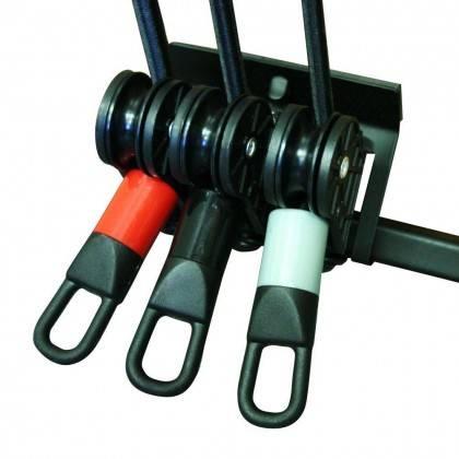 Zestaw lin treningowych na drzwi TOWER 200 INSPORTLINE gumy do ćwiczeń,producent: INSPORTLINE, photo: 3