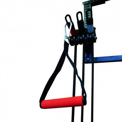 Zestaw lin treningowych na drzwi TOWER 200 INSPORTLINE gumy do ćwiczeń,producent: INSPORTLINE, photo: 4