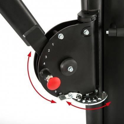 Brama z nastawnymi ramionami Barbarian-Line BBP-4000 | stos 2x90,5kg,producent: Barbarian-Line, zdjecie photo: 5 | online shop k