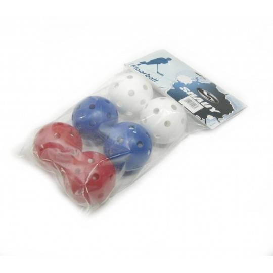 Piłki do unihokeja Shauy Training 72mm   opakowanie 6 sztuk,producent: Shauy, zdjecie photo: 1   online shop klubfitness.pl   sp