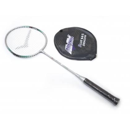 Rakieta do badmintona BLUE DRAGON 665 ALLRIGHT z pokrowcem 1/2,producent: ALLRIGHT, photo: 1
