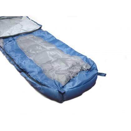 Śpiwór turystyczny mumia DUNLOP z pokrowcem,producent: Dunlop, zdjecie photo: 4   online shop klubfitness.pl   sprzęt sportowy s
