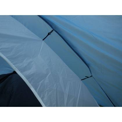 Namiot turystyczny czteroosobowy DUNLOP dwuwarstwowy niebiesko-szary Dunlop - 5 | klubfitness.pl
