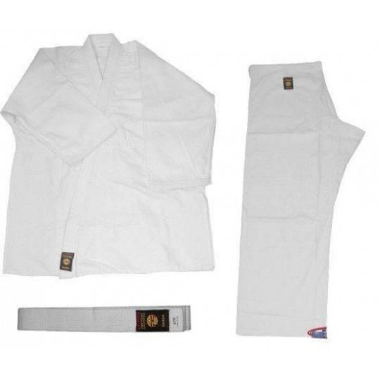 Kimono do judo z pasem Bushindo | 12oz | białe Bushindo - 1 | klubfitness.pl | sprzęt sportowy sport equipment