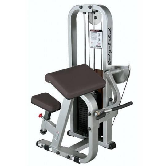Maszyna na mięśnie bicepsów BODY-SOLID SBC-600G/2 modlitewnik siedząc,producent: Body-Solid, zdjecie photo: 1   online shop klub