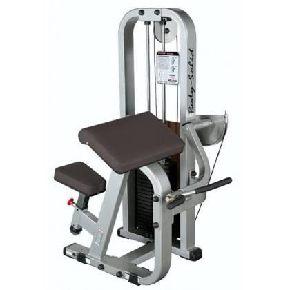 Maszyna na mięśnie bicepsów BODY-SOLID SBC-600G/2 modlitewnik siedząc,producent: BODY-SOLID, photo: 1