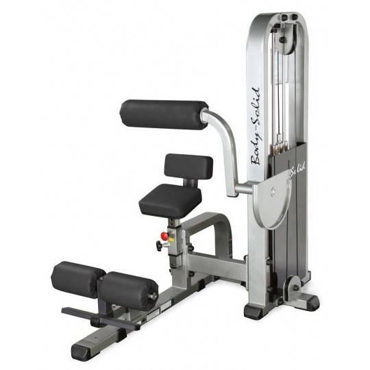 Maszyna na mięśnie brzucha BODY-SOLID SAM-900G/2 ściąganie tłowia siedząc,producent: BODY-SOLID, photo: 1