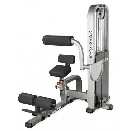 Maszyna na mięśnie brzucha BODY-SOLID SAM-900G/2 ściąganie tłowia siedząc BodySolid - 1 | klubfitness.pl