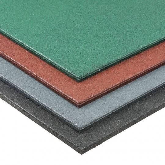 Podłoga gumowa Gymfloor® GFRT-1000-20 1x1m - 20mm grubość Gym-Floor - 1 | klubfitness.pl