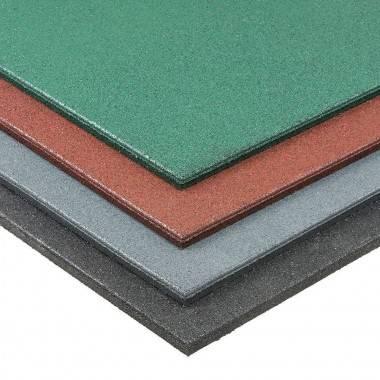 Podłoga gumowa amortyzująca 1 m x 1 m x 20 mm różne kolory,producent: IFS, photo: 1