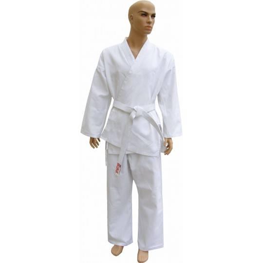 Kimono karate z pasem Spartan Sport | 9oz | białe SPARTAN SPORT - 1 | klubfitness.pl | sprzęt sportowy sport equipment