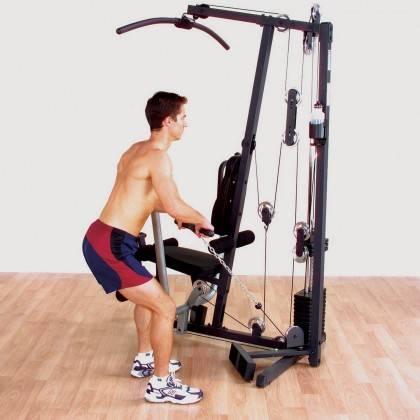 Atlas do ćwiczeń BODY-SOLID G1S wielofunkcyjny Body-Solid - 10 | klubfitness.pl | sprzęt sportowy sport equipment