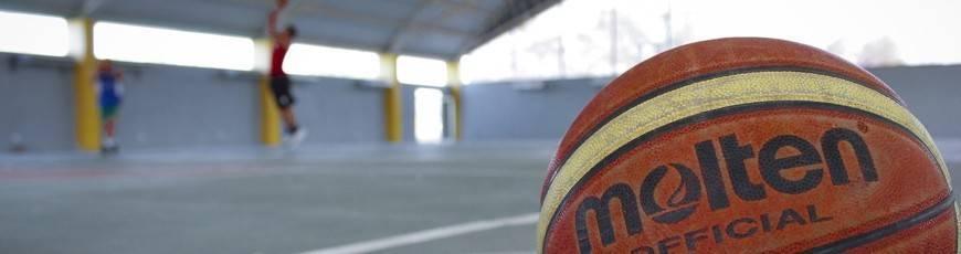 Piłki siatki i kosze do gry w koszykówkę