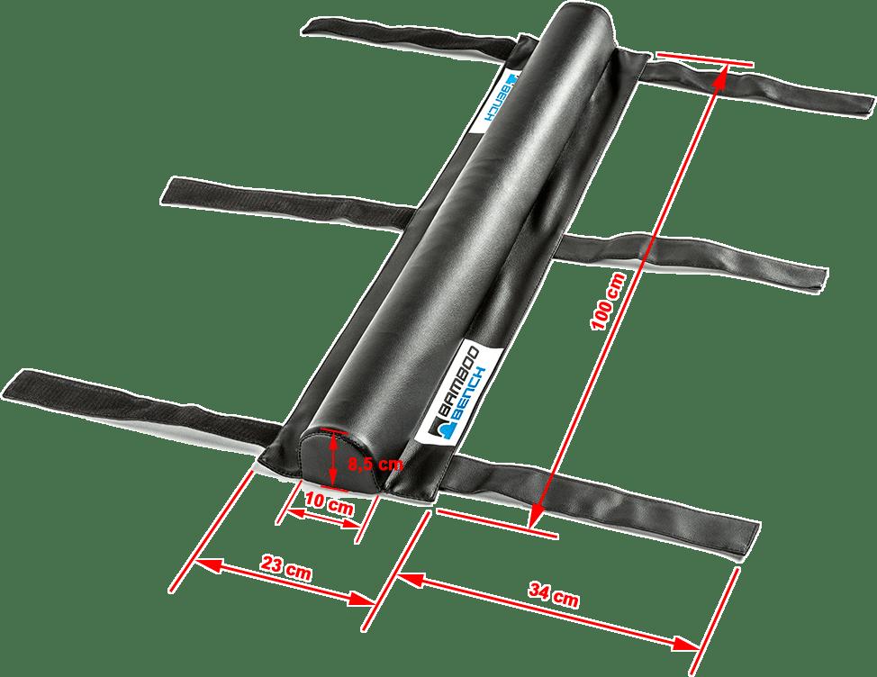 Nakładka Bamboo Bench® | wymiary