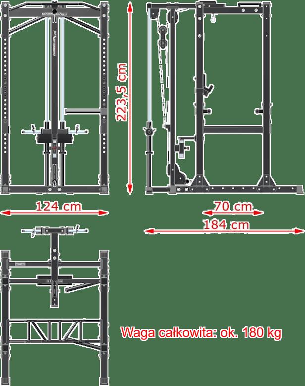 BB-VP-31000 | wymiary gabarytowe
