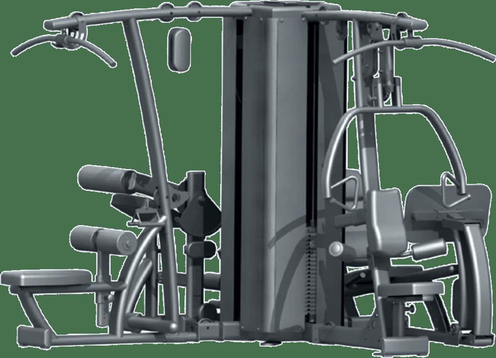 DGYMP-3 Body-Solid   stanowiska układ 1