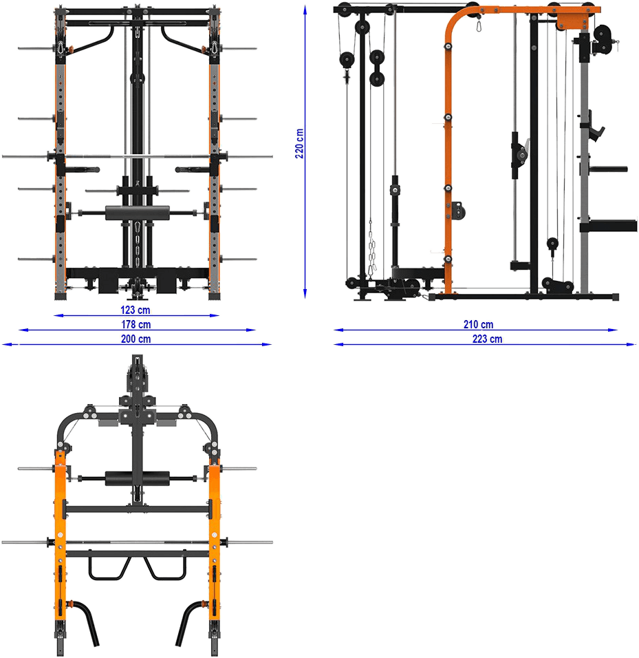 MegaTec MT-SCR-PL | wymiary gabarytowe