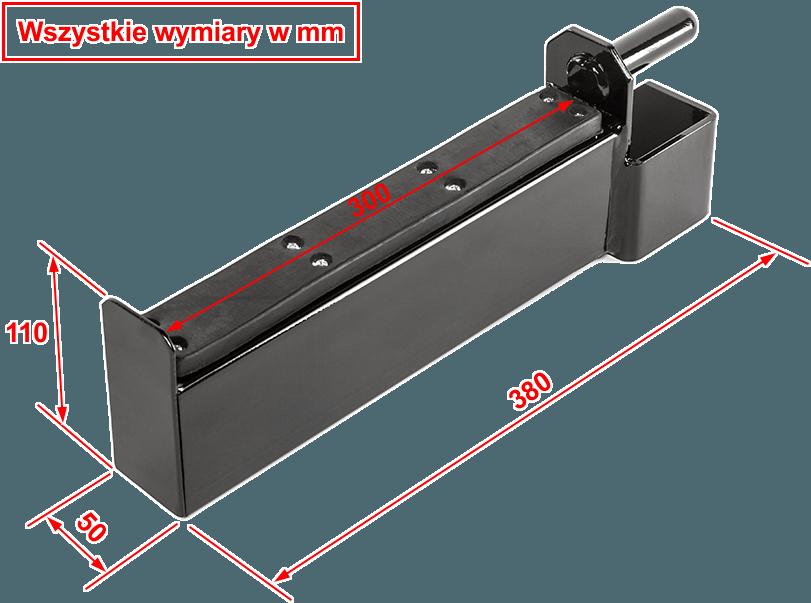 MT-SPA-300 MegaTec | wymiary gabarytowe