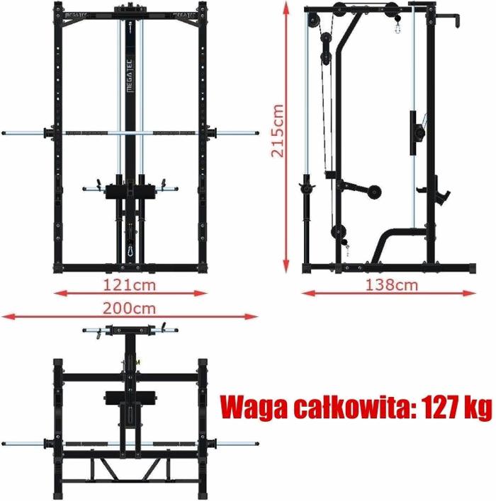 MT-MP-10+LMO-FW MegaTec | wymiary gabarytowe