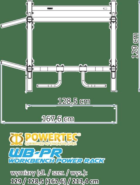 WB-PR PowerTec   wymiary gabarytowe