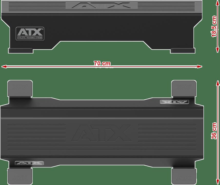 ATX-CAFB   wymiary gabarytowe