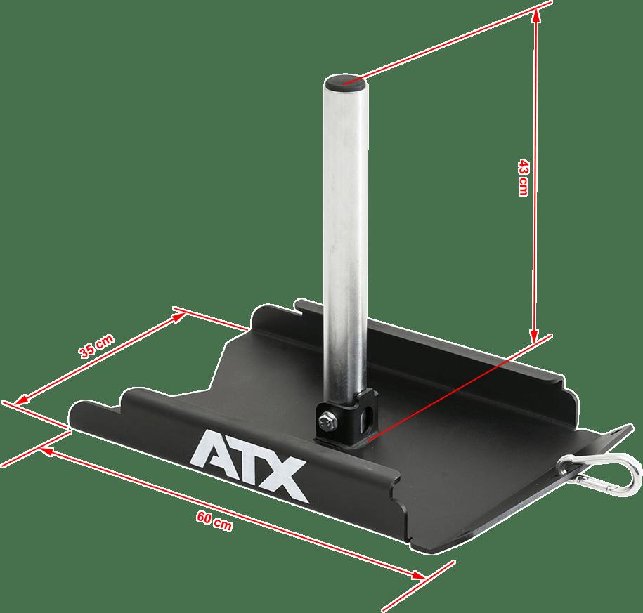 ATX-DGSD | wymiary gabarytowe | sanie crossfit