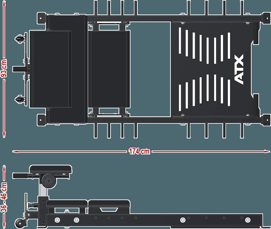 ATX-GLS | wymiary gabarytowe