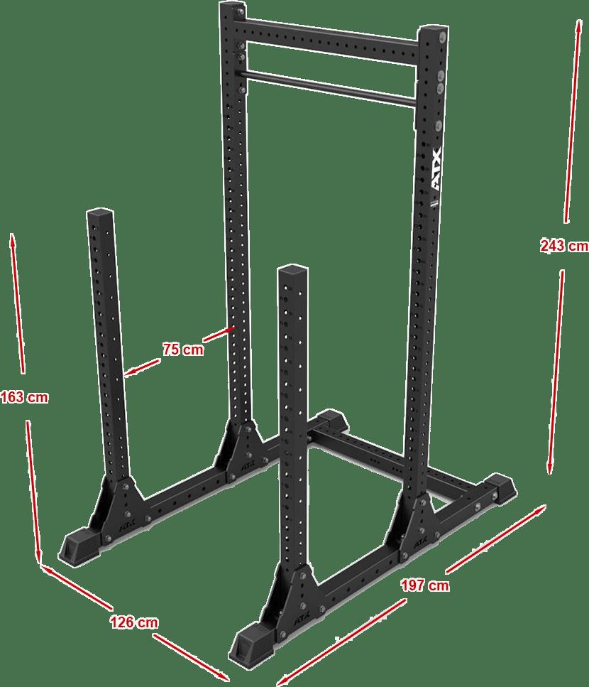 ATX-OPR-240 Power Rack | stanowisko treningowe | wymiary