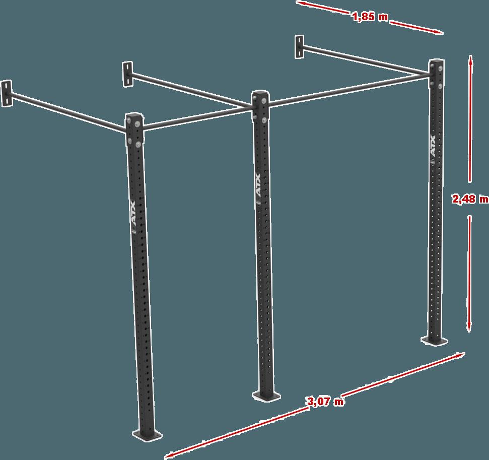 ATX-WR-2-250 | wymiary gabarytowe