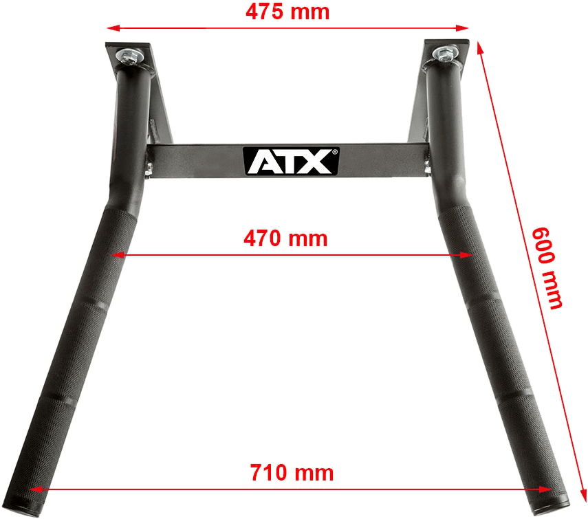 Poręcze ATX-DBX-710 | wymiary