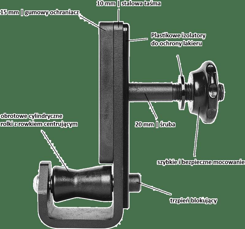 ATX-FH7-ROL haki J-Cups | uniwersalna konstrukcja