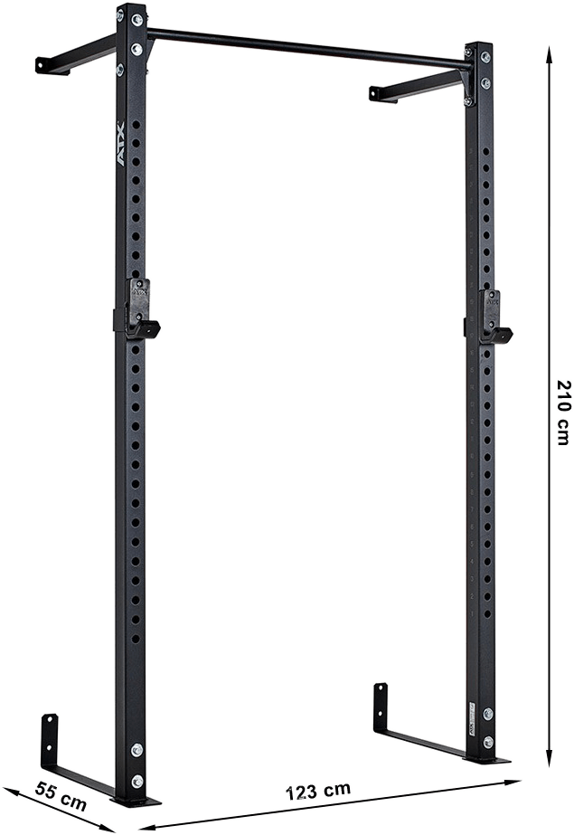 Half Rack - Wall Rack ATX-HRW-640 | wymiary gabarytowe