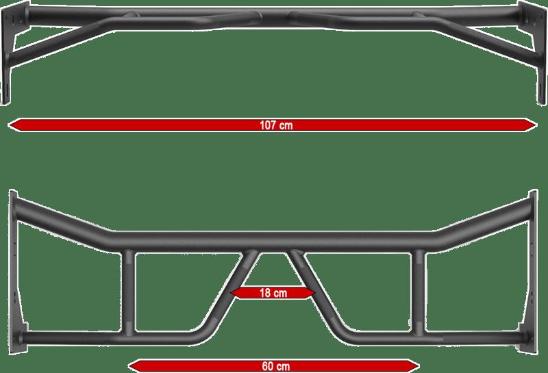 ATX-PRX-750-PUL-1 | drążek do podciągania | wymiary