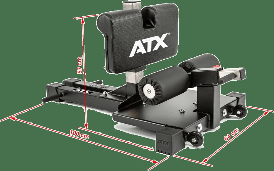 Stanowisko Sissy Squat Master Pro ATX-SYS-710 | wymiary