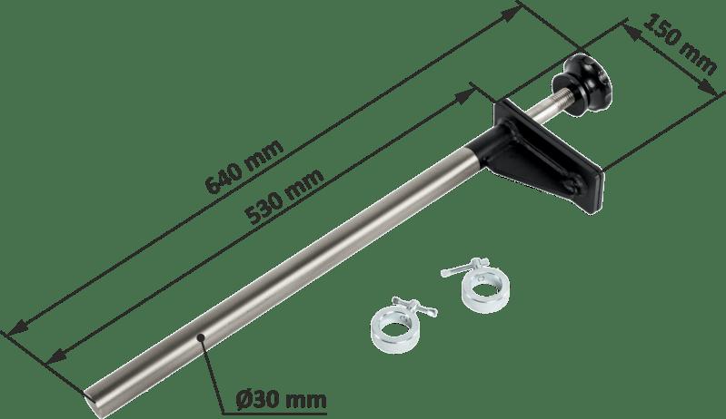 ATX-ROL-RMT | wymiary gabarytowe