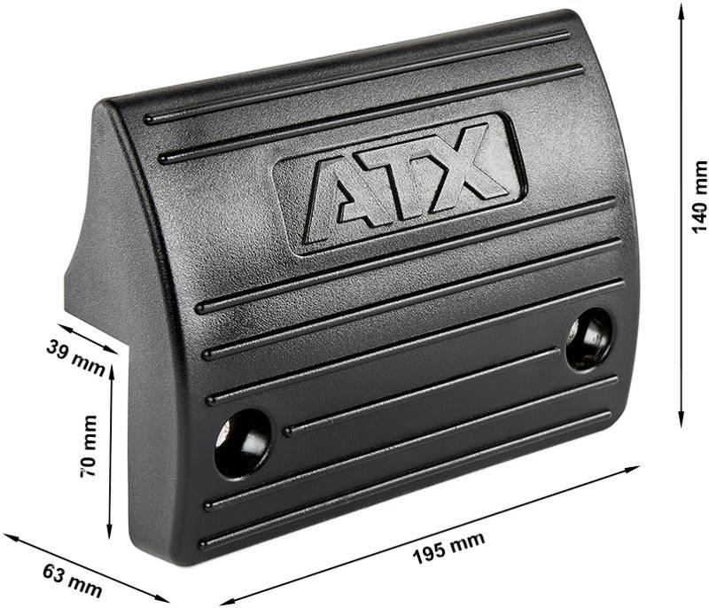 ATX-RUB-FTRT | blokady gumowe | wymiary gabarytowe