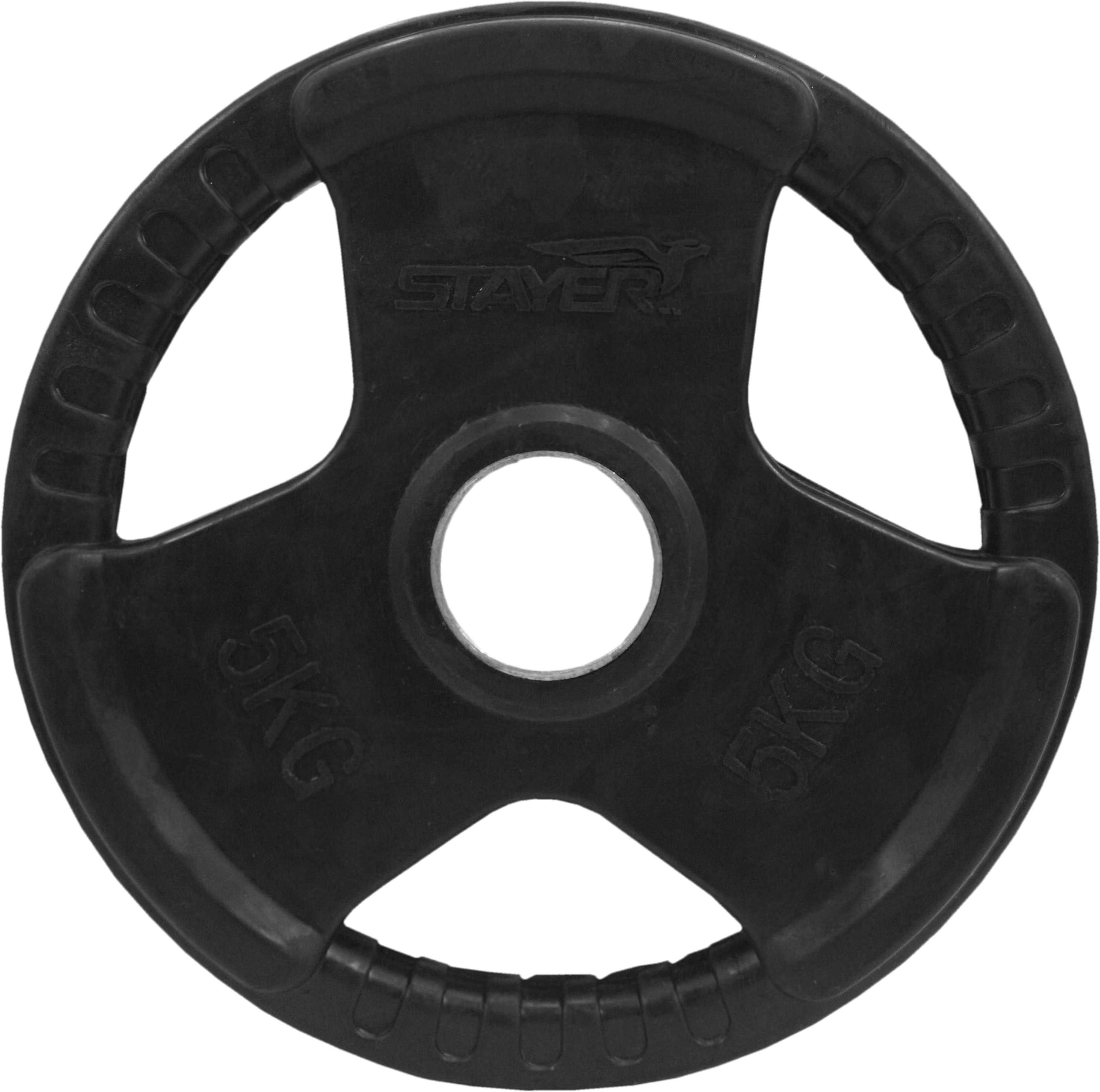 Obciążenie olimpijskie gumowane Stayer Sport NRB-3 | 5kg