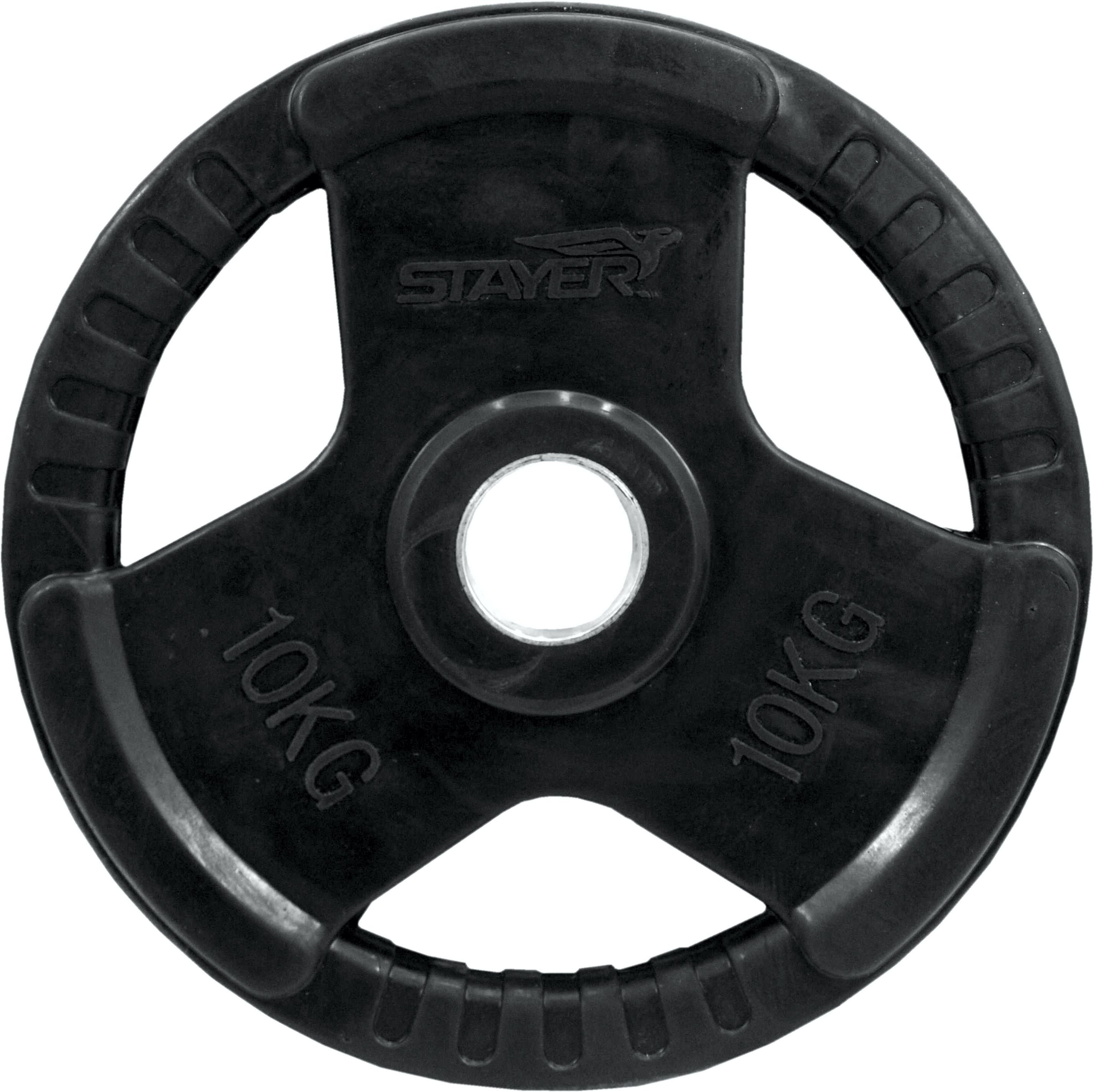 Obciążenie olimpijskie gumowane Stayer Sport NRB-4 | 10kg
