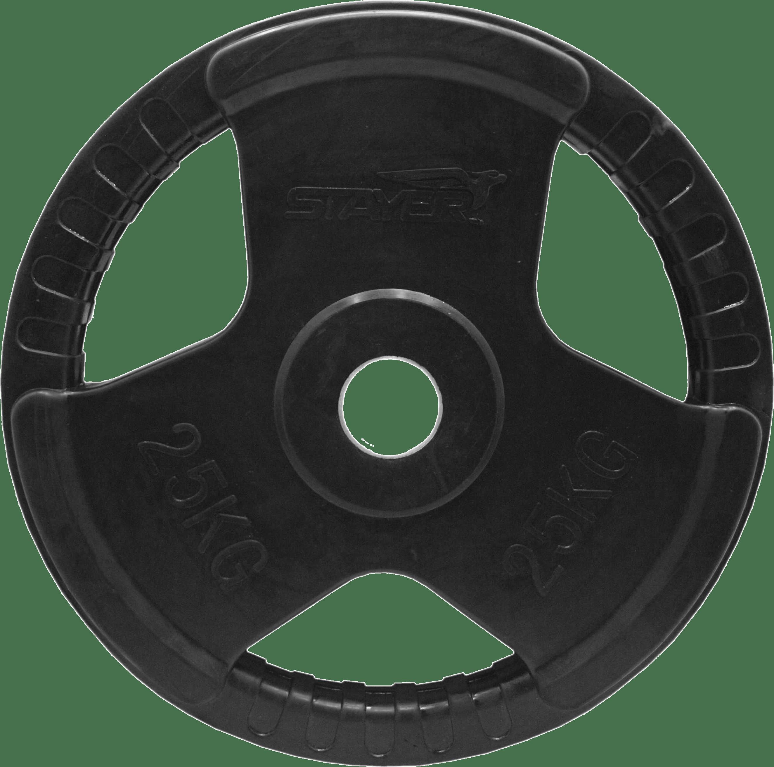 Obciążenie olimpijskie gumowane Stayer Sport NRB-7 | 25kg